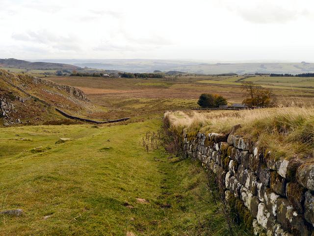 Hadrian's Wall near Steel Rigg