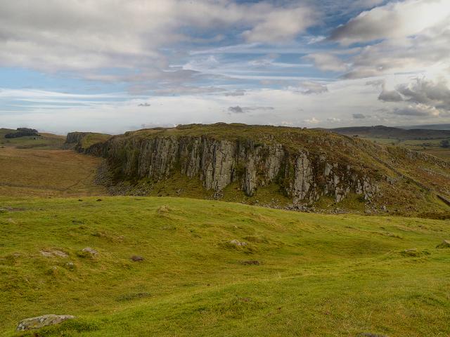 Hadrian's Wall, Peel Crags