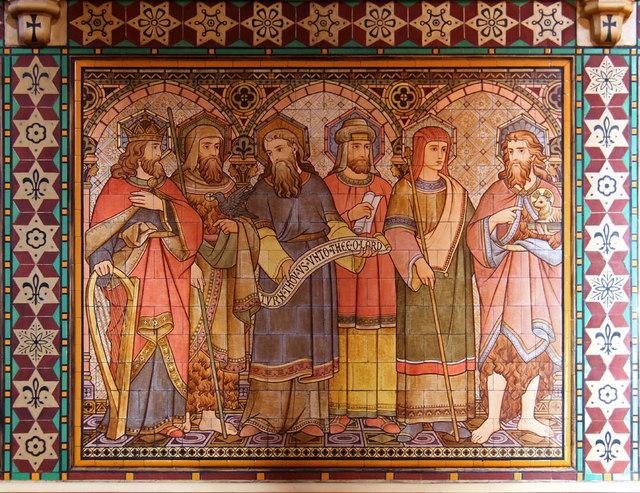 All Saints, Margaret Street - Tiled picture