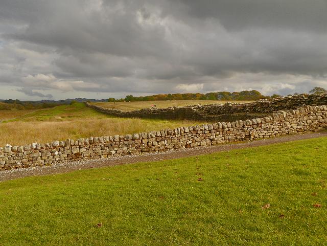 Hadrian's Wall at Birdoswald