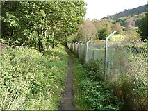 SE0125 : Hebden Royd Path 54 by Humphrey Bolton