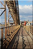 TQ4079 : Gangway to jetty at Angerstein Wharf  by Oast House Archive
