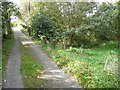 SE0125 : Footpath junction, Scout Bottom Lane by Humphrey Bolton