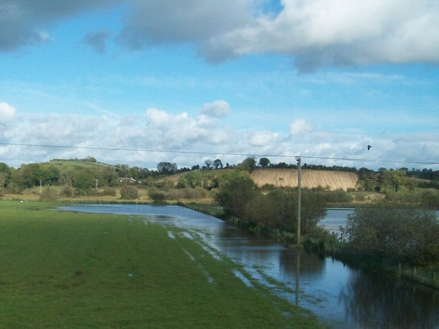Flooding in the valley of the Ballynahinch River