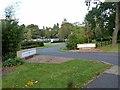 TF2063 : Woodhall Spa Golf Club car park by Oliver Dixon