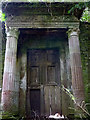 NY5223 : Derelict doorway, Lowther Castle by Karl and Ali