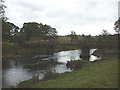 NY5121 : Footbridge over the River Lowther by Karl and Ali