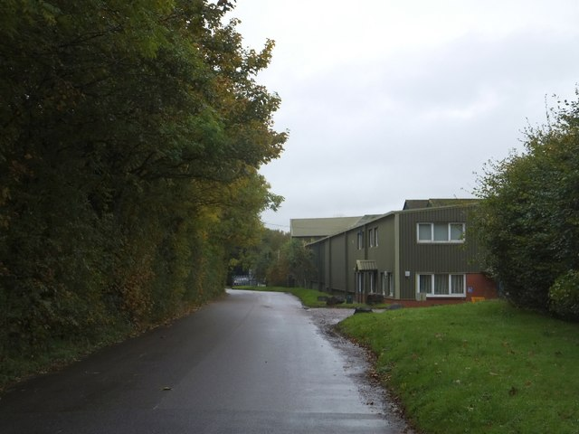 The offices of King's Mill paper mill