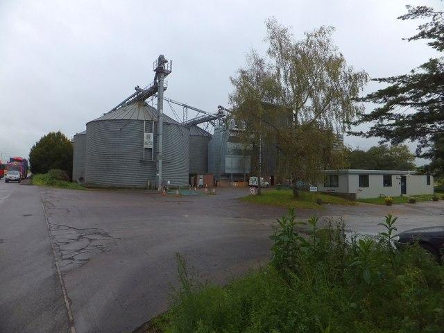 Grain silos on Kingsmill Industrial Estate