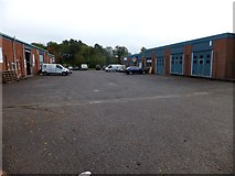 ST0307 : Units on Kingsmill Industrial Estate by David Smith
