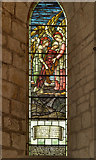 NY5563 : Lanercost Priory Church, North Aisle Stained Glass Window by David Dixon