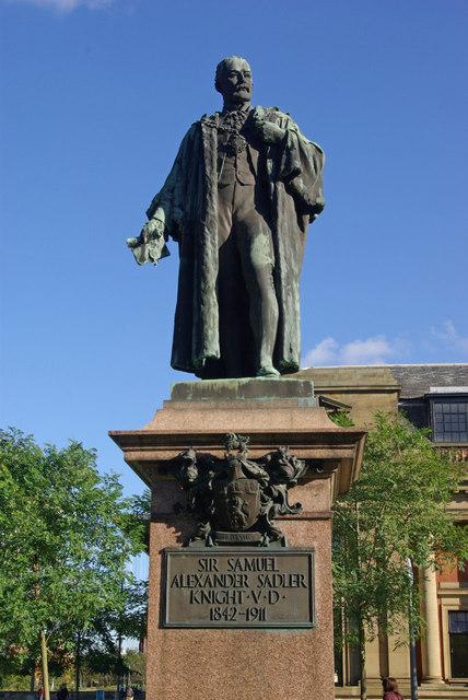 Statue of Samuel Sadler