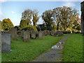 NY5563 : Graveyard, Lanercost Priory Church by David Dixon