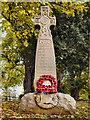NY4756 : War Memorial, Holme Eden by David Dixon