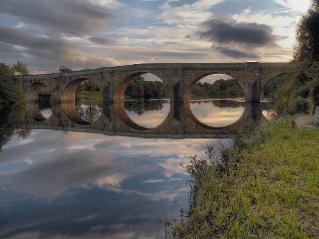 River North Tyne, Chollerford Bridge