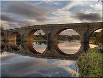 NY9170 : Chollerford Bridge by David Dixon