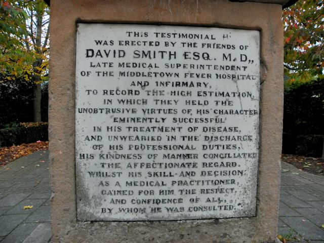 Dr Smith memorial panel (1)