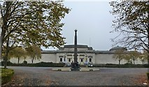 SJ3384 : Lady Lever art Gallery, with Lord Leverhulme memorial statue, Port Sunlight by Ruth Sharville