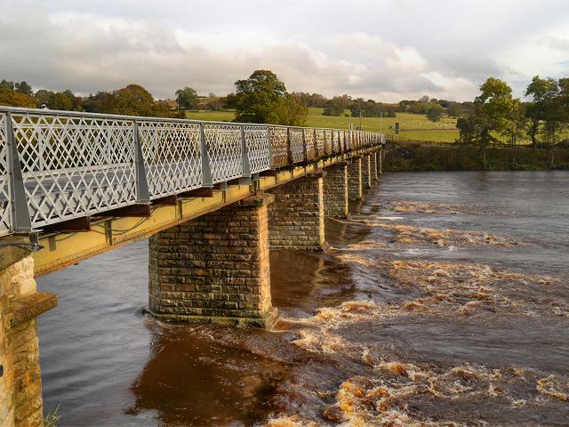 Wark Bridge, River North Tyne