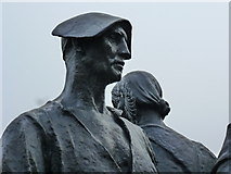 SJ3384 : Detail from the Lord Leverhulme memorial statue, Port Sunlight by Ruth Sharville