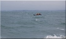 SZ6497 : Inshore rescue boat off Southsea by N Chadwick