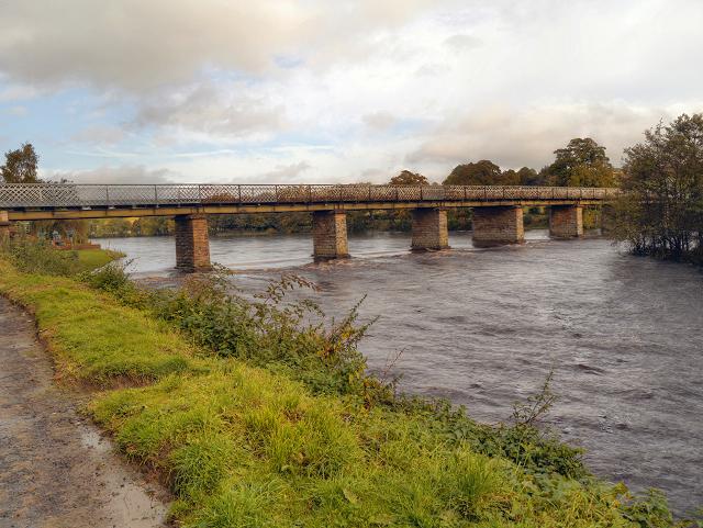 River North Tyne, Wark Bridge