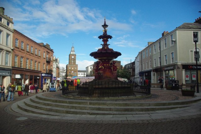 Fountain in the High Street
