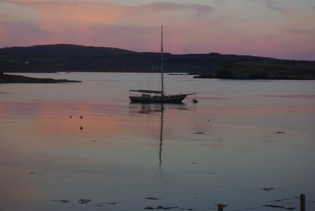 Sunset at Colbost