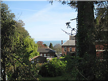 SX9374 : Trinity School, grounds and sea view by Robin Stott