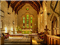 NY8773 : St Mungo's Church, Chancel by David Dixon