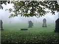 NZ1953 : Cemetery, Stanley by Alex McGregor