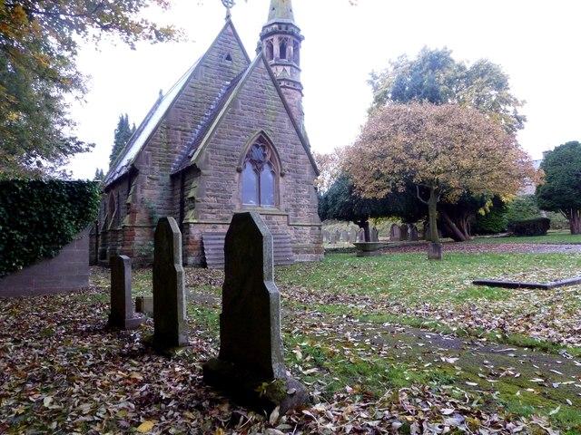 Chapel in Bakewell Cemetery