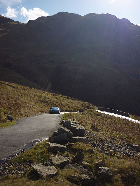 On the hairpins of Hardknott
