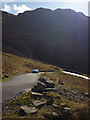 NY2201 : On the hairpins of Hardknott by Karl and Ali