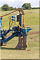 SU4834 : Detail of Bron V250 Cable Plough by Peter Facey