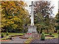 NY9364 : Hexham War Memorial, Abbey Gardens by David Dixon