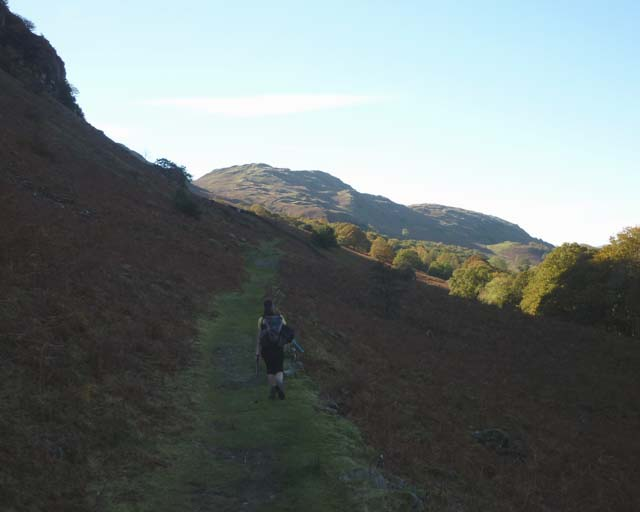 On the bridleway to the Duddon Valley