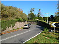 SO6811 : Sharp bend on the A48, Newnham-on-Severn by Jaggery
