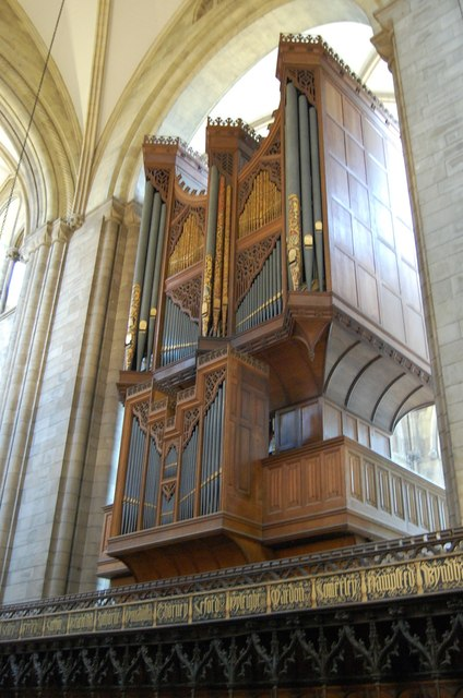 Organ, Chichester Cathedral