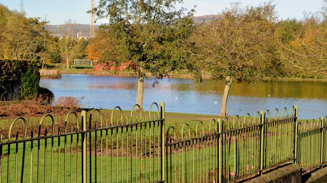 Old fence, Victoria Park, Belfast