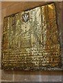 SU8504 : Brass to William  & Alice Bradbridge, Chichester Cathedral by Julian P Guffogg