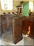 SY7699 : Inside St Martin, Cheselbourne (J) by Basher Eyre