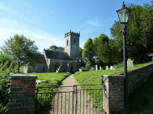 St Martin, Cheselbourne: churchyard (c)