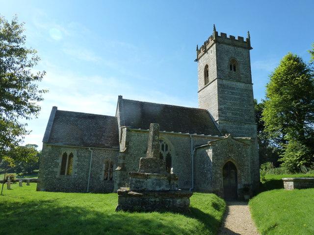 St Martin, Cheselbourne: churchyard (e)