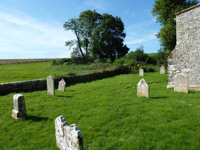 St Martin, Cheselbourne: churchyard (f)