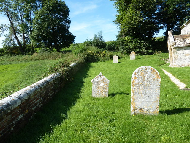 St Martin, Cheselbourne: churchyard (h)