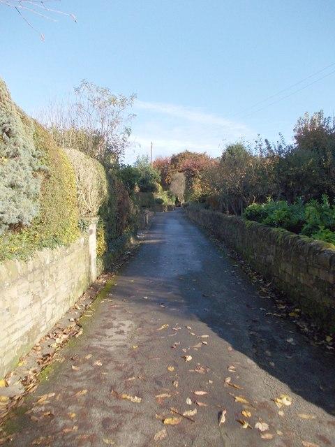 Footpath - Beck Lane