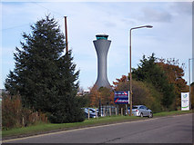 NT1473 : Edinburgh Airport control tower by Thomas Nugent
