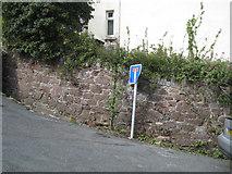 SX9473 : Steep corner, top of Heywoods Road by Robin Stott