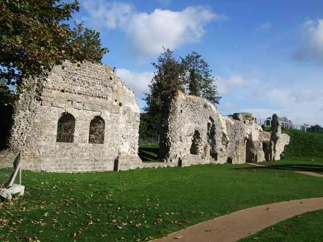Lewes Priory remains